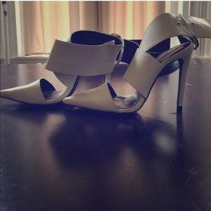 Zara Women Big Buckle Heels